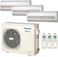 CU3KS19NBU CSMKS7NKU (THREE) Panasonic 22500 BTU Cooling Only Wall Mount Tri Zone System