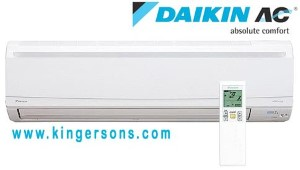 Daikin FTXS15LVJU 15000 BTU Ductless Wall Mounted Heat Pump Air Handler