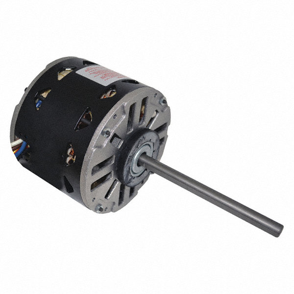 CENTURY 1/4 HP Direct Drive Blower Motor, Permanent Split Capacitor, 1050 Nameplate RPM, 115 Voltage
