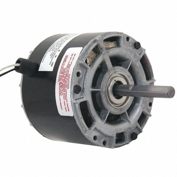 CENTURY 1/10 HP Direct Drive Motor, Shaded Pole, 1100 Nameplate RPM, 115 VoltageFrame 42Y