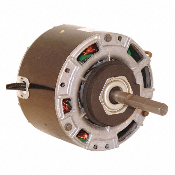 CENTURY 1/7 HP Direct Drive Motor, Shaded Pole, 1050 Nameplate RPM, 115 VoltageFrame 42