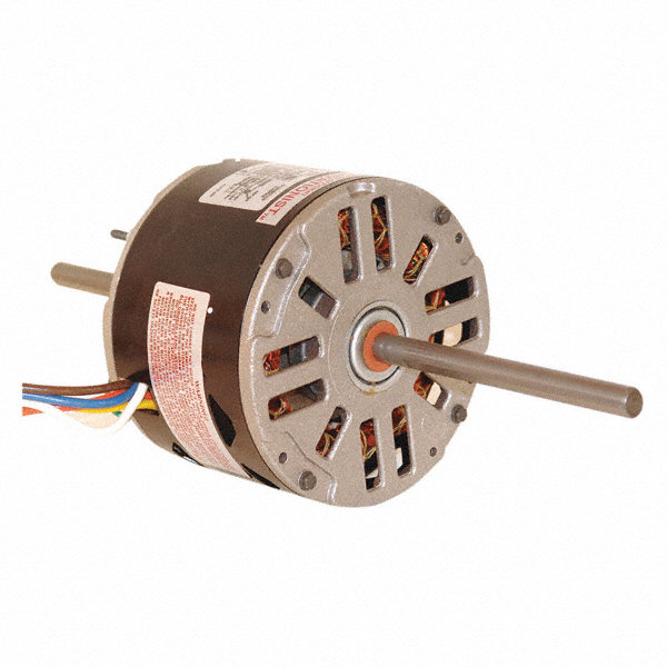 CENTURY 1/3 HP Room Air Conditioner Motor, Permanent Split Capacitor, 1100 Nameplate RPM, 208-230 Voltage