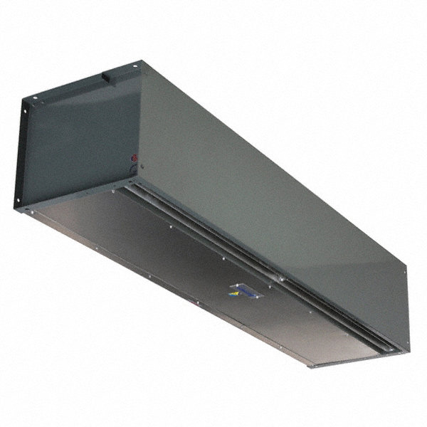 BERNER Air Curtain, 15 ft. Max. Door Width, 12 ft. Max. Mount Ht., 69 dBA @ 10 Feet, 5550 fpm