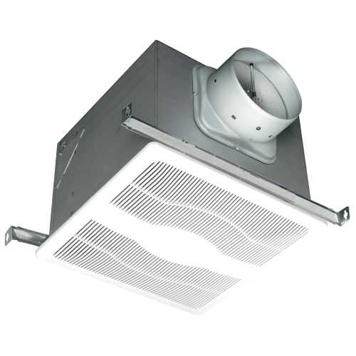 Air King EVD 120 CFM 0.6 Sones Ceiling Mounted HVI Certified Exhaust Fan with Bo