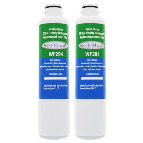 AquaFresh Replacement Water Filter for Samsung RF263BEAESR Refrigerator Model (2 Pack)