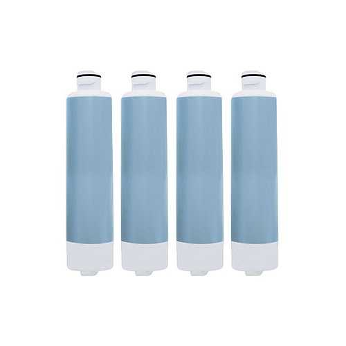 Aqua Fresh Replacement Water Filter f/ Samsung RH25H5611BC/AA / RFG297HD Refrigerator Model 4 Pk
