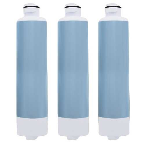 Aqua Fresh Replacement Water Filter f/ Samsung RH25H5611SG/AA Refrigerator Model 3 Pk