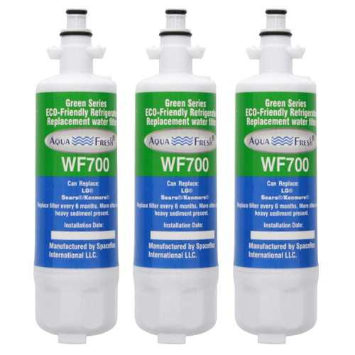 AquaFresh Replacement Water Filter for LG LFXS24663S Refrigerators - (3 Pack)