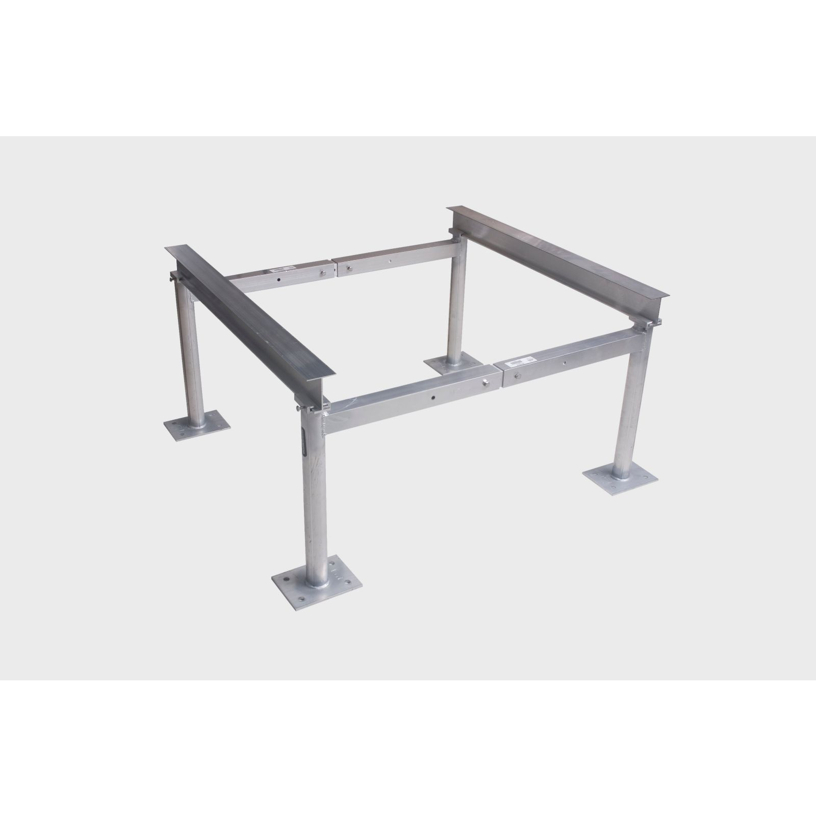 "Miami Tech AS10H30 - Aluminum Condensing Unit Stand Heavy Duty Leg Assembly, 30"" Tall, 20-30"" spread"