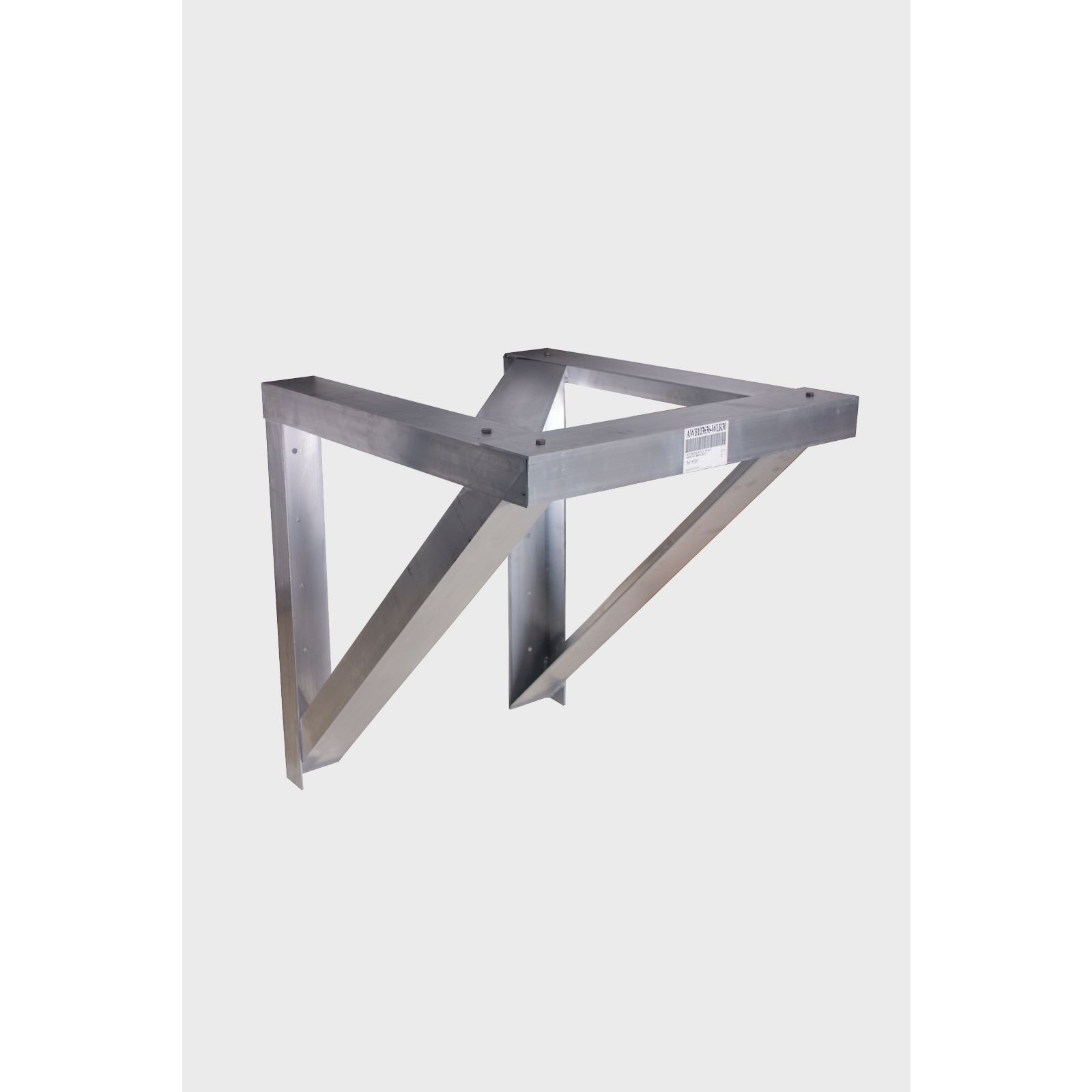 "Miami Tech AWB103036-WLR24 - Aluminum Condensing Unit Wall Mount Bracket, 30"" X 36"", 24"" Wind Load Rated"