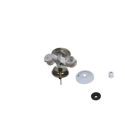 Larson 52 in. White Ceiling Fan Replacement Light Kit