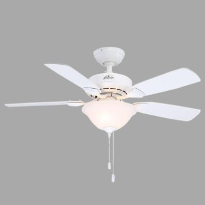 Caraway 44 in. White Ceiling Fan