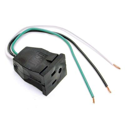 10 in. Evaporative Cooler Pump Pigtail Receptacle
