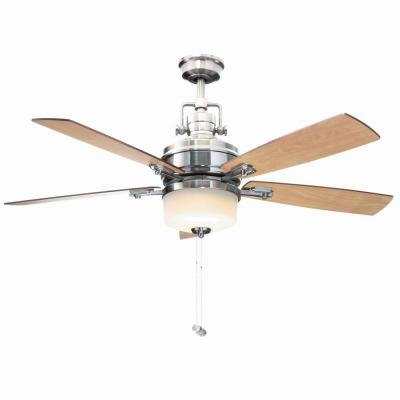 Sedalia II 52 in. Brushed Nickel Ceiling Fan