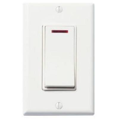 WhisperControl 1-Function On/Off Switch in White
