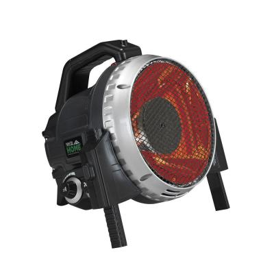 1500-Watt Infrared Electric Portable Utility Heater - Black