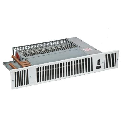 Whispa III Under Counter Fan Convector - Hydronic - Heat Only - with EZ-Hose Installation Kit