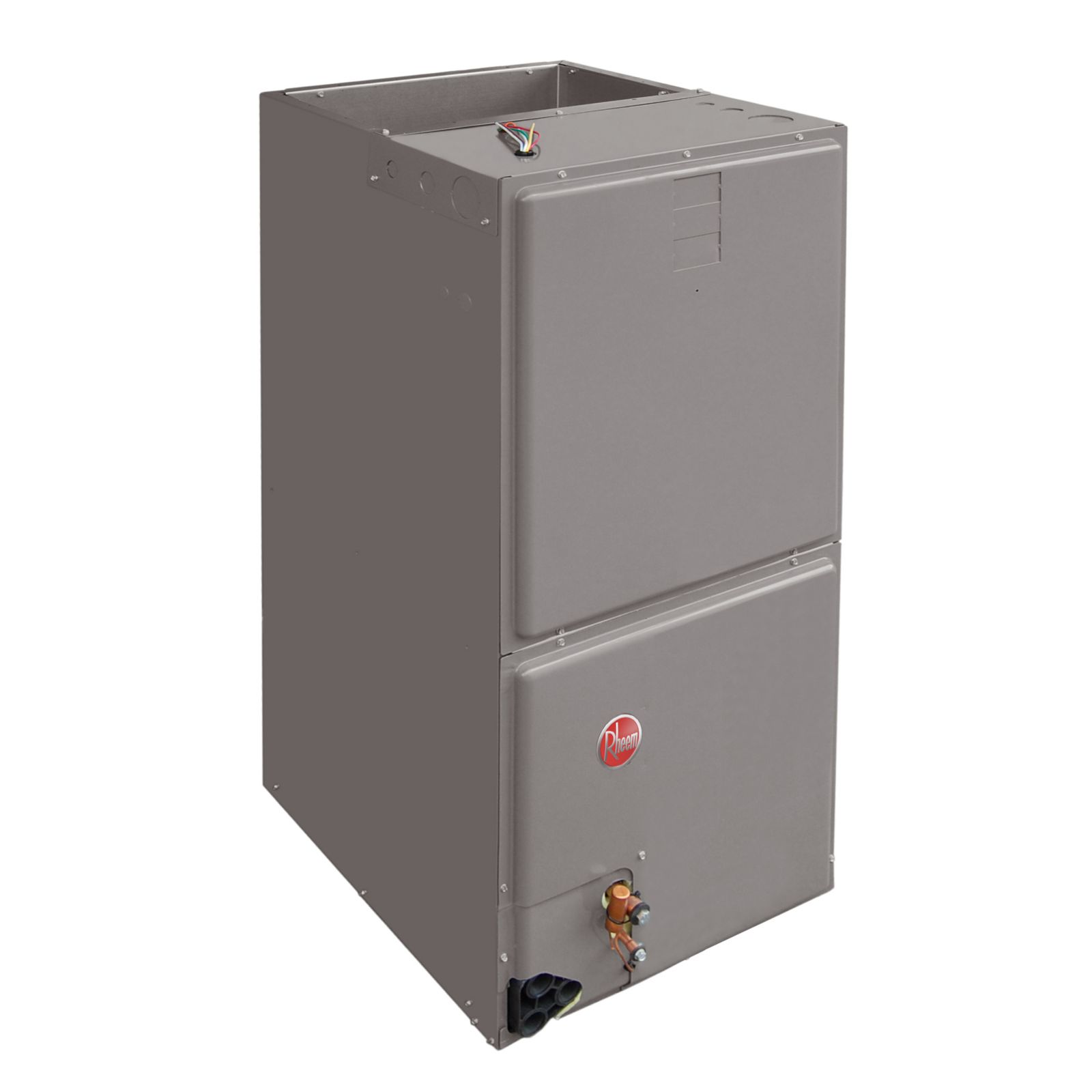"Rheem RH1T6021STANJA - 5 Ton Air Handler, 21"" Wide, Constant Torque Motor, Single-Stage Airflow, Aluminum Coil 208/240/1/60"